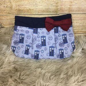 Handbags - NWOT Dr. Who Tardis Handmade Clutch